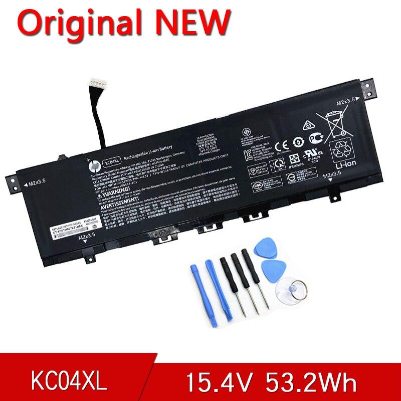 KC04XL الأصلي كمبيوتر محمول بطارية لجهاز HP الحسد 13x360 PC 13 13-ah0001la HSTNN-DB8P L08544-2B1 L08496-855 15.4V 53.2Wh