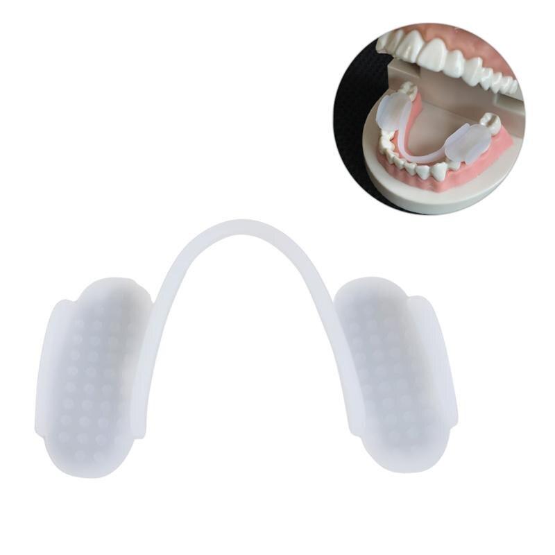 1 шт. зубная шлифовальная Скоба силиконовый защитный бруксим помощь Защита зубов шлифовальная Скоба зубная Крышка для женщин и мужчин