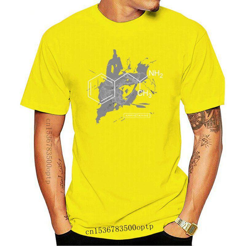 New Neuro Hormone Drug Chemistry Experiment Amphetamine Molecule Mens T-Shirt Summer Cotton Short Sleeve O-Neck Unisex T Shirt S
