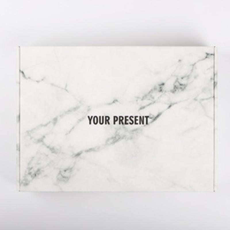 10Pcs New Clothes Gift Boxes Color Paper Carton Your Present Packaging Corrugated Box Logistics Paper Boxes 30x20x5cm