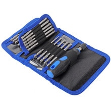 Phillips Multifunctional Lengthening Screwdriver Set Slotted Electric Screwdriver Hand Tool Set 24 in 1