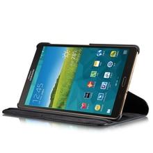 Cubierta para tableta SM T700 T705, funda inteligente de cuero de lujo para Samsung Galaxy Tab S 8,4, funda inteligente para libro, Funda de cuero, funda con soporte