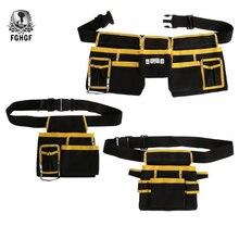 FGHGF haute qualité multi-fonctionnel Oxford tissu électricien outils sac taille poche ceinture support de stockage organisateur
