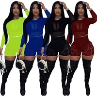 sexy women tracksuit two piece set sheer mesh shirt and short pants sportwear matching set outfit
