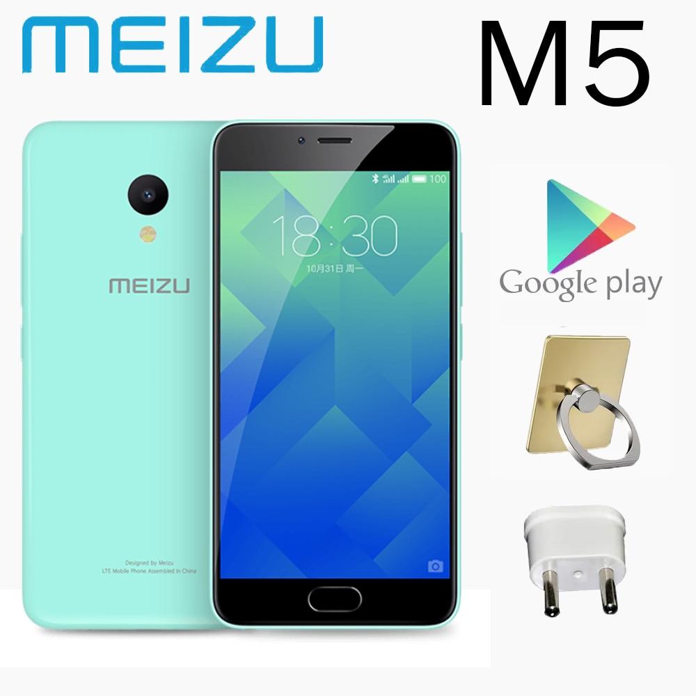 98%new meizu M5 smartphone 2G 16G 5.2 inches Android 6.0 3070mAh battery Mediatek MT6750 global version smart phone