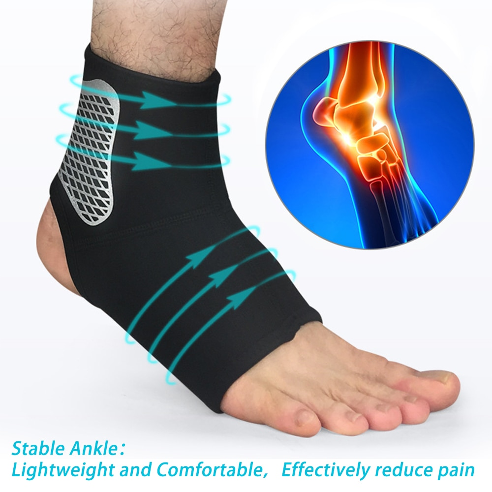 Ankle Support Protect Brace Compression Strap Achille Tendon Brace Sprain Protect Foot Bandage Runni