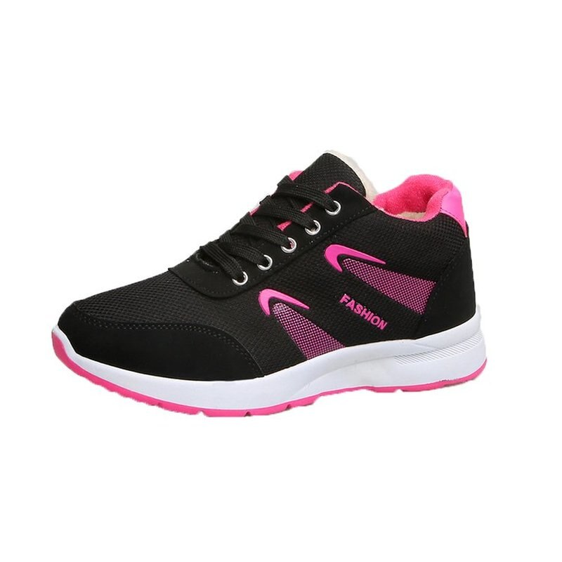 2019 Women Sneakers Vulcanized Shoes Ladies Casual Shoes Breathable Walking sports shoes winter shoes with Fur
