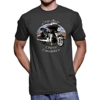 victory cross country easy rider mens dark t shirt