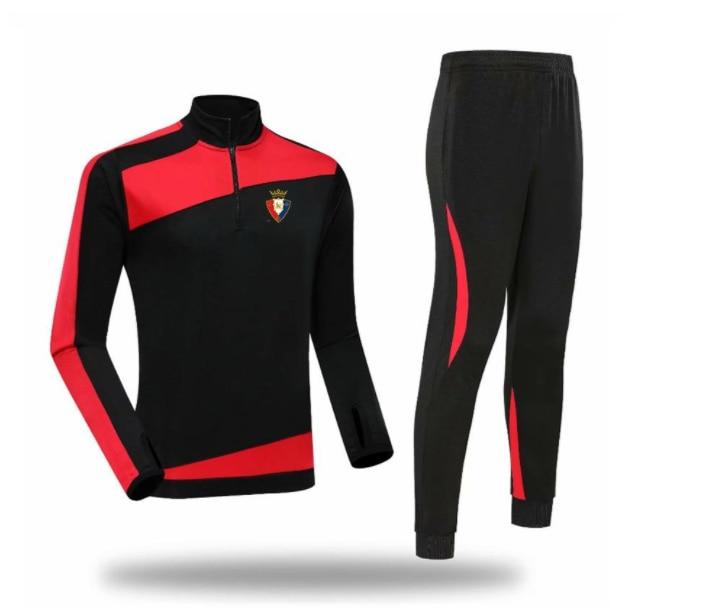 CA Osasuna 2021 2022 men's tracksuit jacket top training suit outdoor sportswear...