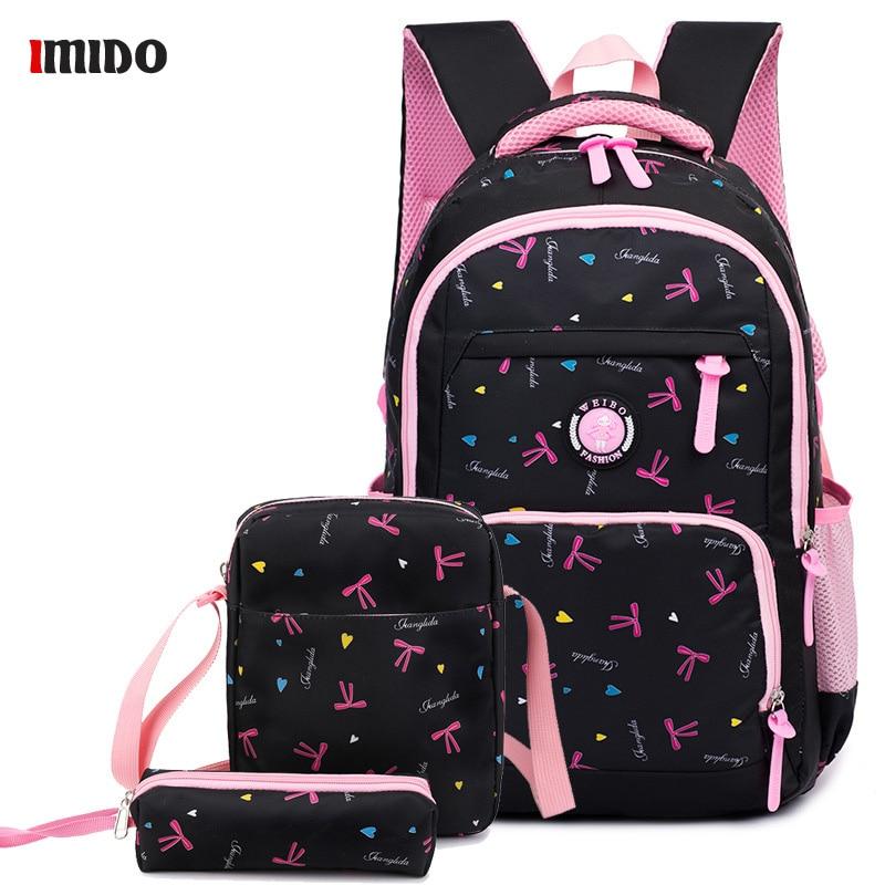 2020 moda lona floral mochila bolsa para adolescente menina grande capacidade saco de escola rosa roxo azul real preto viagem