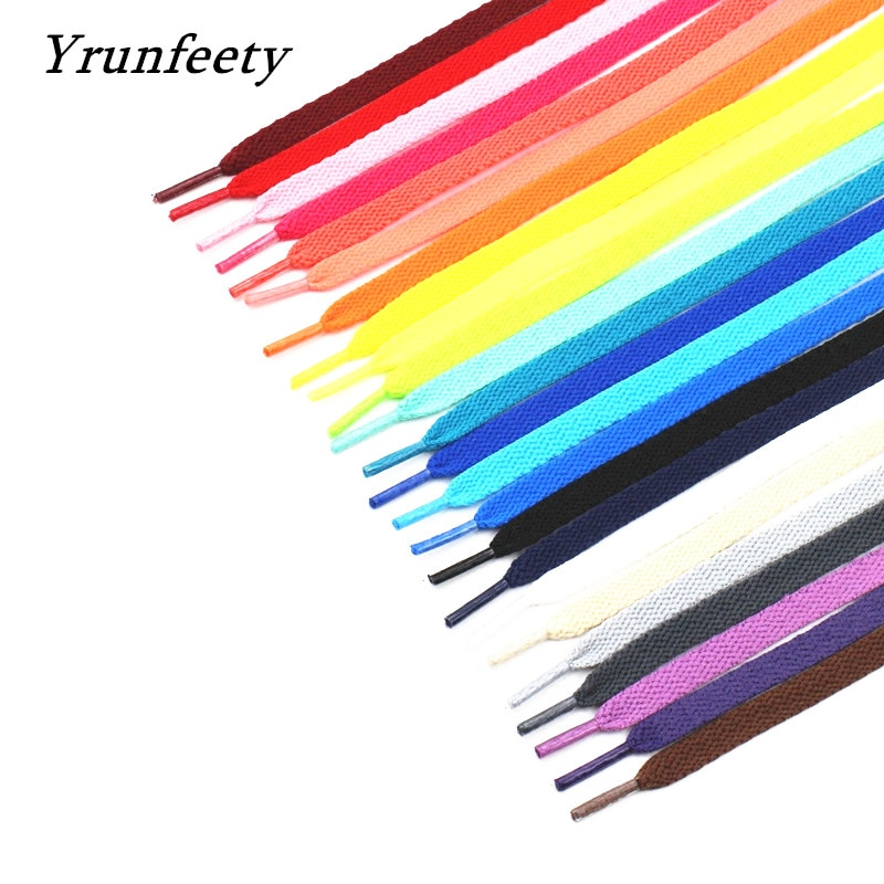 2021 New Printed Signed Shoelaces OW SHOELACES Black White Orange Green Purple Off Shoe Laces for The Ten Shoes Flat