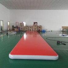 Gratis Verzending 5 M * 1 M * 0.2 M Opblaasbare Gymnastiek Airtrack Floor Tumbling Air Track Voor Kinderen Volwassen gratis Een Elektronische Pomp