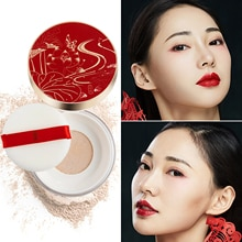 ILISYA poudre en vrac contrôle de lhuile meilleure poudre de finition de visage en vrac translucide pour la fondation de maquillage