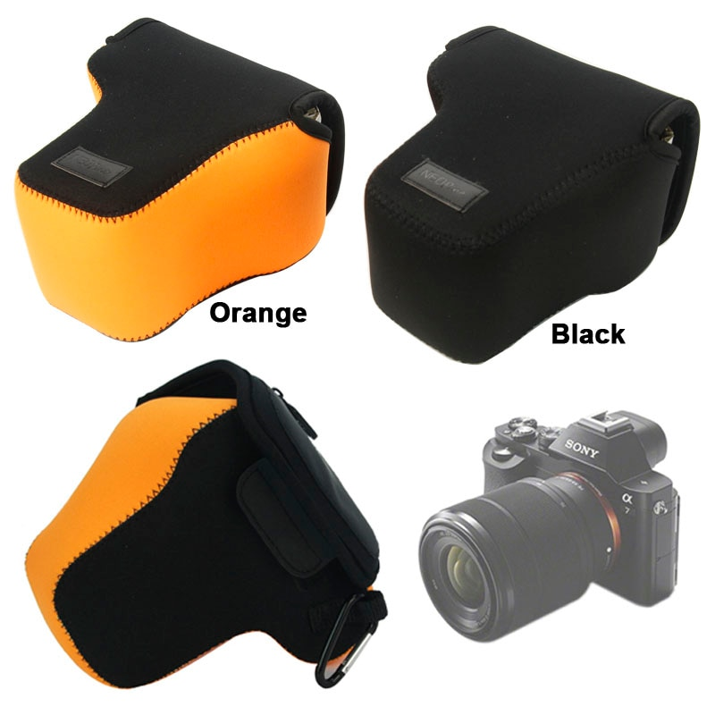 Funda protectora para cámara Sony Alpha A7 A7R A7S, funda de neopreno...