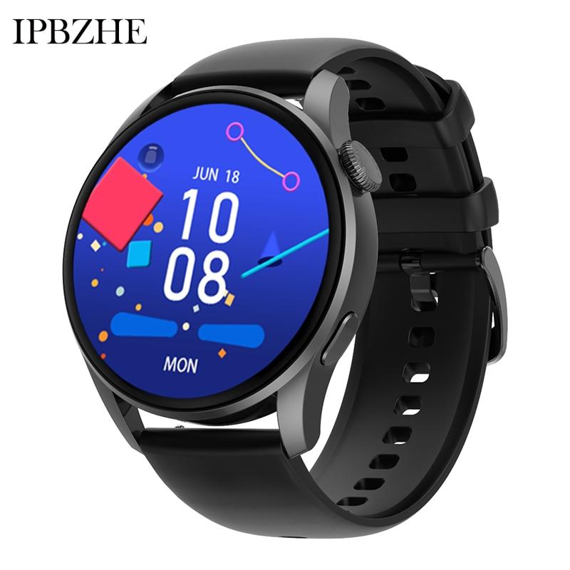 Ipbzhe Smart Watch Men 2021 Android Bluetooth Call Sport Blood Oxygen Smart Watch Women ECG SmartWat