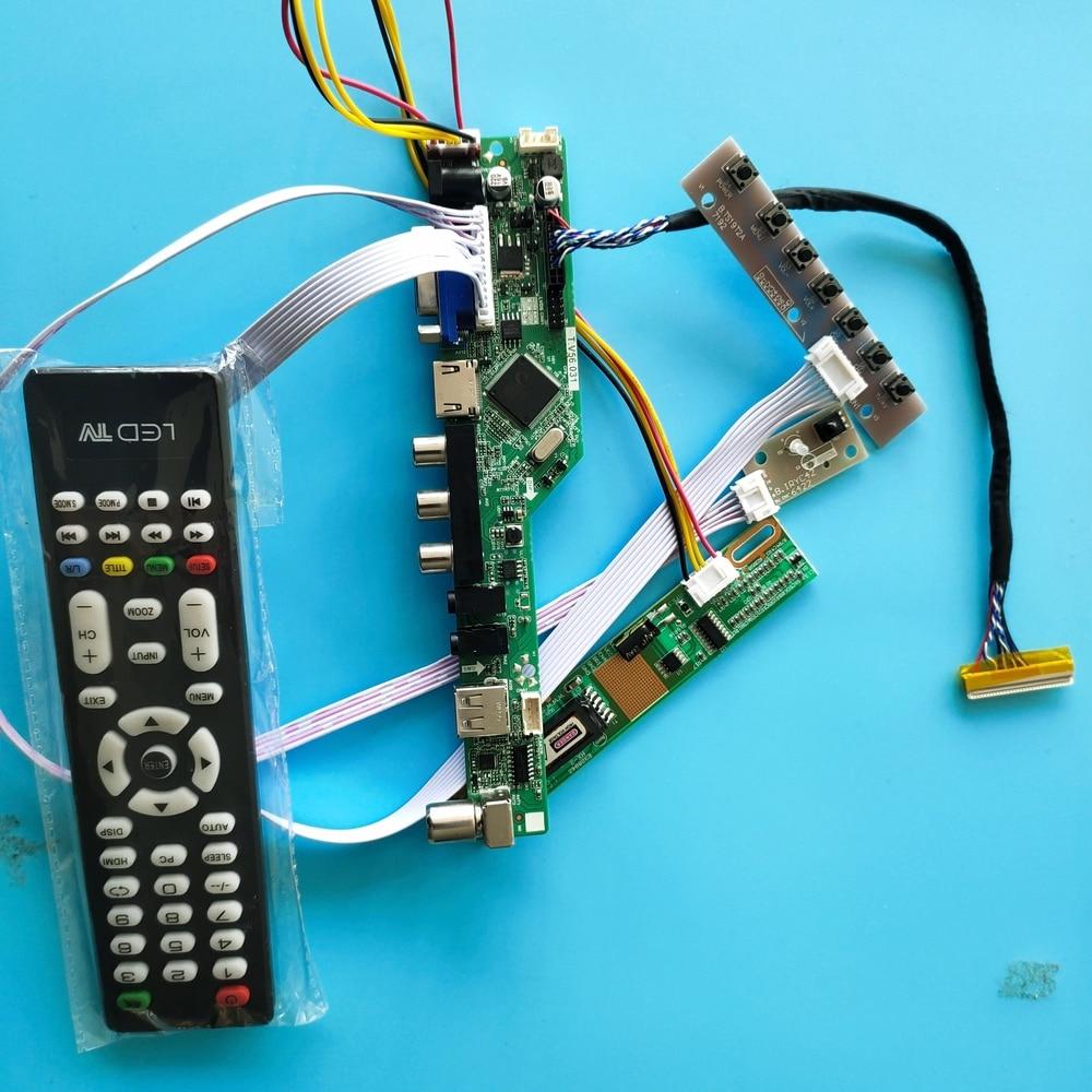 ل LP154WE2-TLA7 وحدة تحكم USB مجلس واجهة وحدة 30pin الرقمية إشارة 1 مصابيح 15.4
