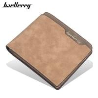 baellerry men wallet fashion short purse vintage card holder coin pocket money purses bag id blocking mini slim wallets for men