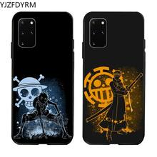Cartoon One Piece Luffy Phone Case for Samsung S20 plus Ultra S6 S7 edge S8 S9 plus S10 5G lite 2020