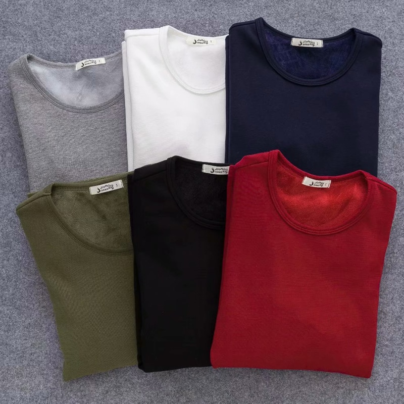 2020 Autumn Winter Women's T Shirt Plus velvet Keep warm Long sleeve T Shirt Women Casual Women Clothing Harajuku Tops Tee Women