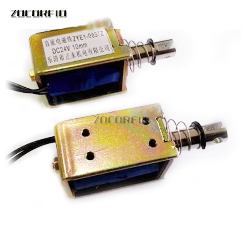 5 قطعة/الوحدة ZYE1-0837Z 0.8N الكهرباء لفترة طويلة مصغرة إطار نوع دفع و سحب DC 6V/12V/24V المحرك/الكهربائي