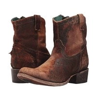 women corral boots brown black