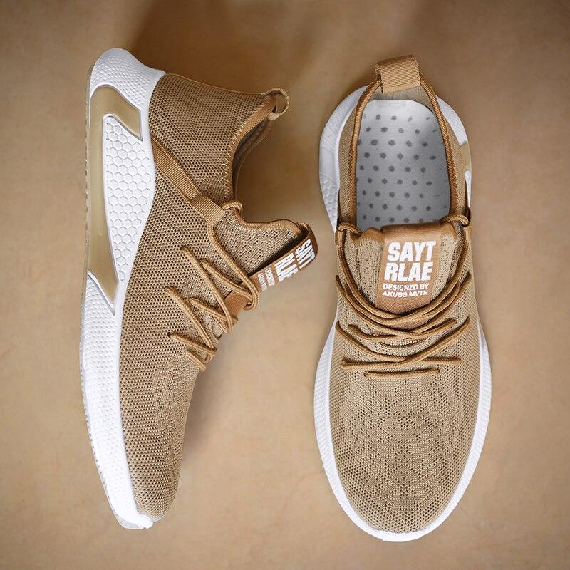 Zapatillas de deporte transpirables para Hombre de zapatos masculinos informales de malla...