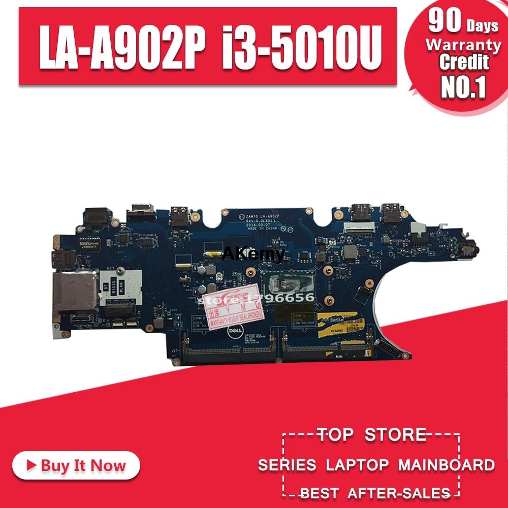 Akemy для Dell Latitude E5450 Материнская плата ноутбука 0PVYKY Wih i3-5010 процессор ZAM70 LA-A902P протестирован