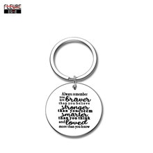 Inspirational Car Key Chain Gifts for Women Men Encouragement Key Chain Graduation Birthday Christmas Gift for Boys Girl Teen