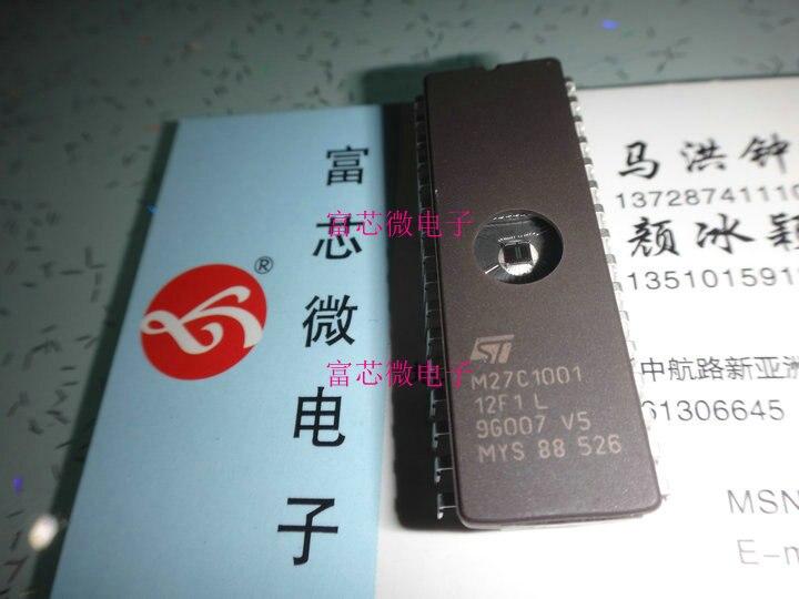 5 peças M27C1001-12F1 M27C1001-10F1