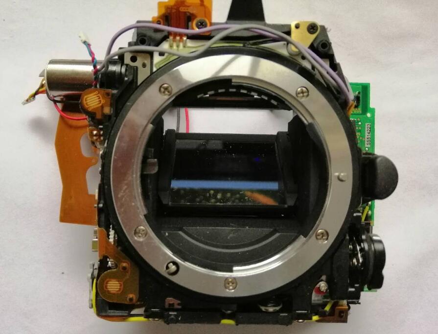 95% الأصلي مرآة صندوق مع فتحة مصراع وحدة تحكم Diphragm لنيكون D750 كاميرا استبدال إصلاح أجزاء