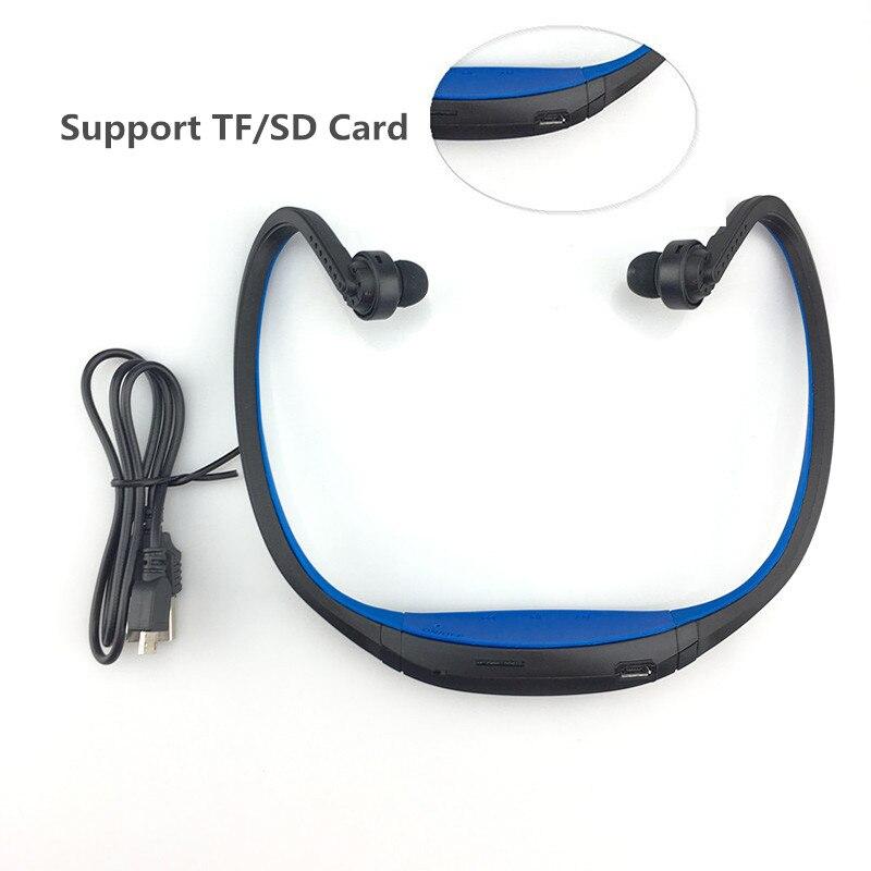 Écouteurs Bluetooth sport S9 Support TF/SD carte sans fil mains libres Auriculares Bluetooth casque pour xiaomi Huawei