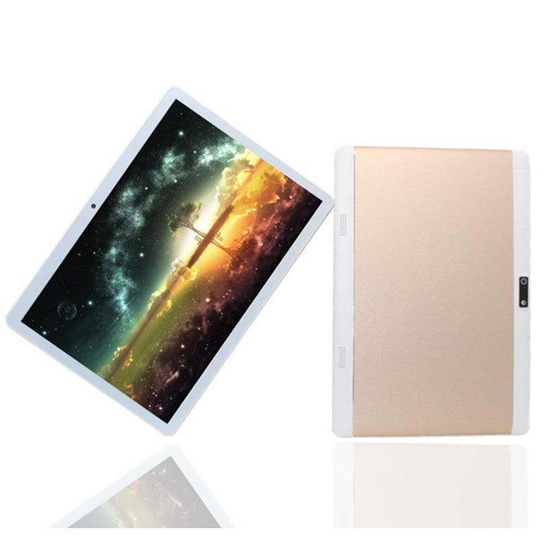 Glavey k108 4g chamada 10.1 Polegada mtk6735 a7 quad coretablet pc andriod 6.0 1gb + 16gb 1280*800 câmeras duplas tablet dourado