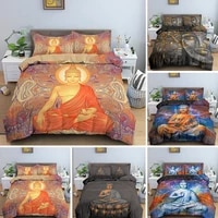 3d digital printing buddha bedding set mystical quiltduvet cover set twin full queen king bed clothes with pillowcases 23pcs