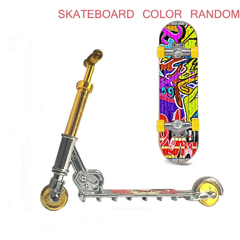 Мини скутер для пальца двухколесный скутер детские развивающие игрушки скутер для пальца велосипед гриф скейтборд мини скутер для пальца
