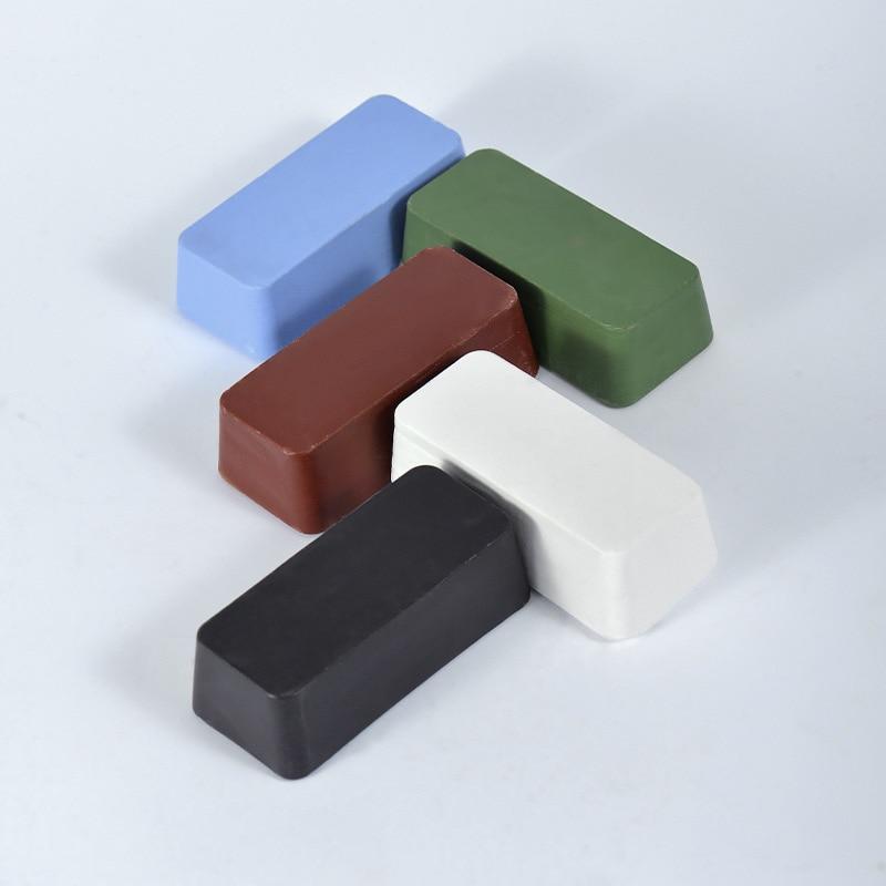 Cera lucidante per metalli in acciaio inossidabile in pasta solida per superficie rossa nera blu bianca verde