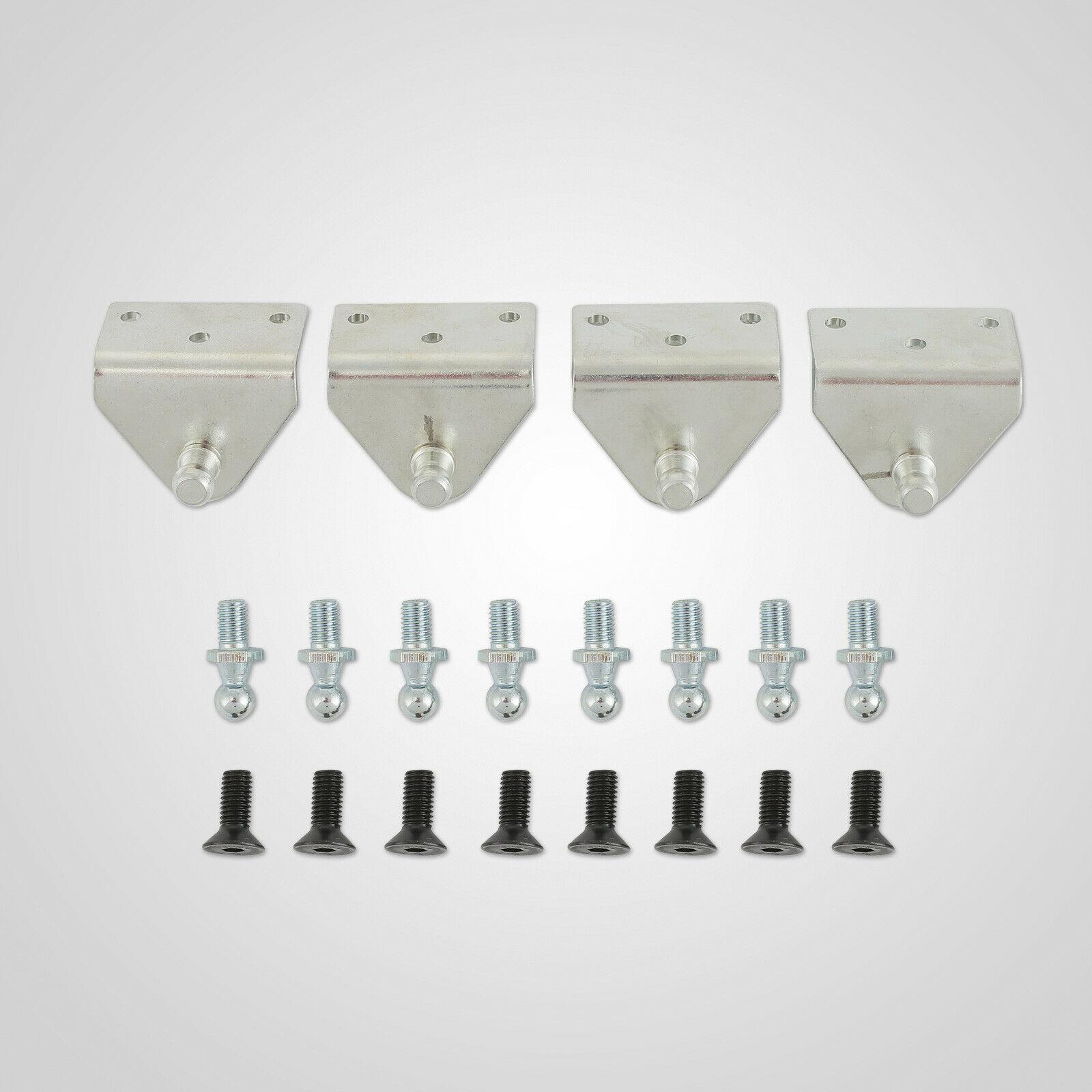 Universal Lambo Door Kit 90 DEGREE UNIVERSAL DOOR HINGE KIT DOOR KIT enlarge