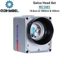 RC1001 RC1001-R Scansione Galvo Head Set 10.6um & 1064nm Laser In Fibra e 355nm 10 millimetri Galvanometro Scanner con Alimentazione