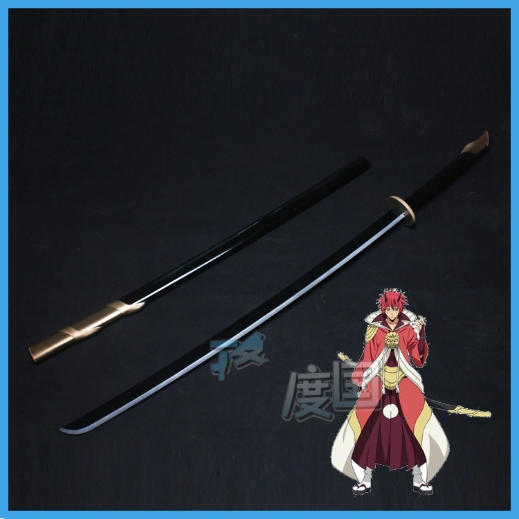 Anime DE LOS Tensei, Shitara Baba Datta Ken benimaru Cosplay Prop arma espada Samurai Prop Ninja cuchillo Katana