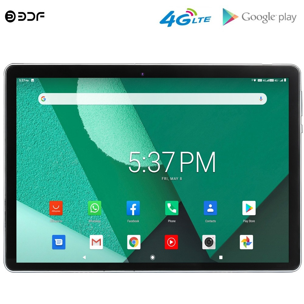 New Original 10 Inch Android 9.0 Octa Core Tablet Pc 4G Phone Call Dual 4G LTE SIM Cards GPS WiFi Google Play 10.1 inch Tablets