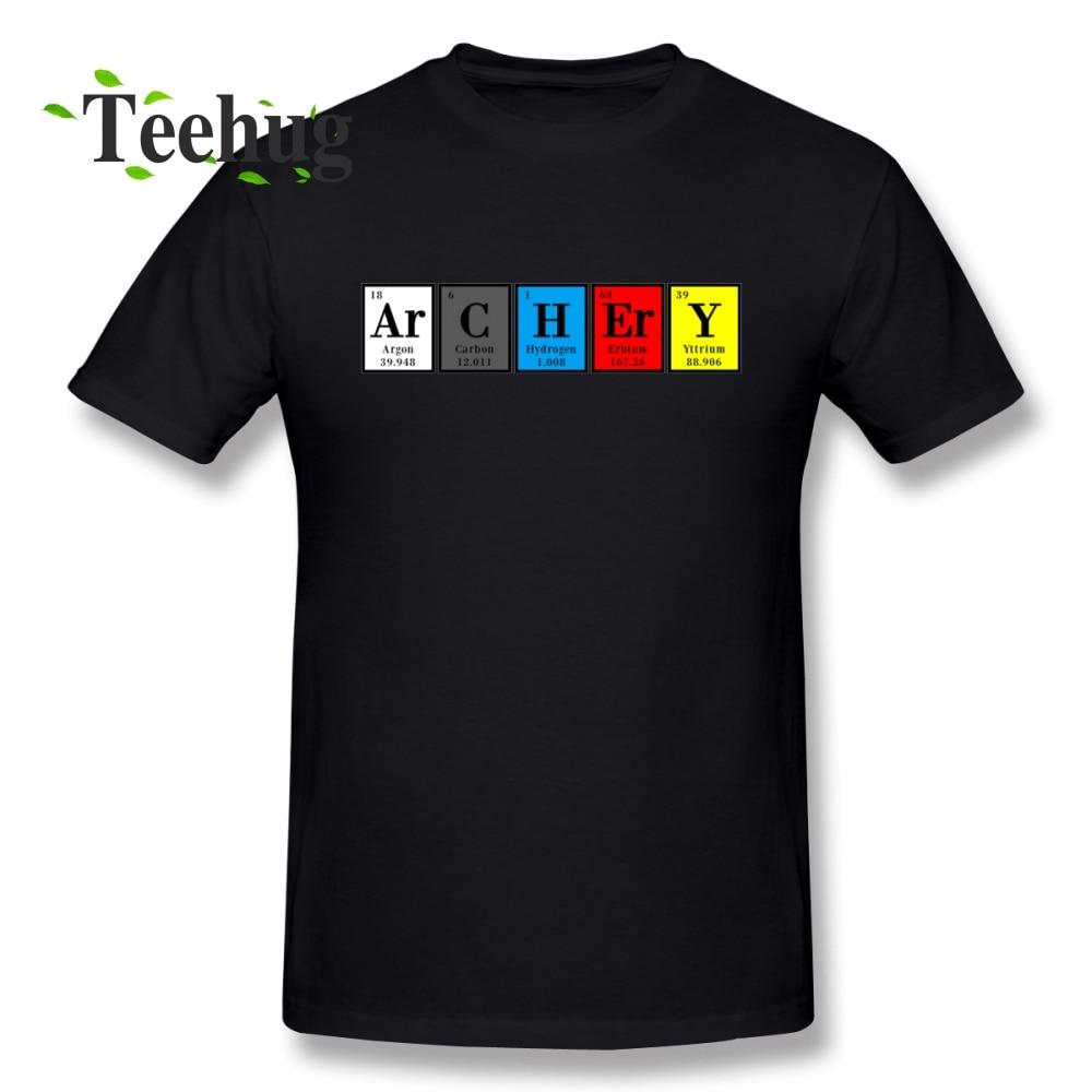 2018 New Arrival ArCHErY T shirt  For Men Summer Male 100% Cotton T-Shirt t