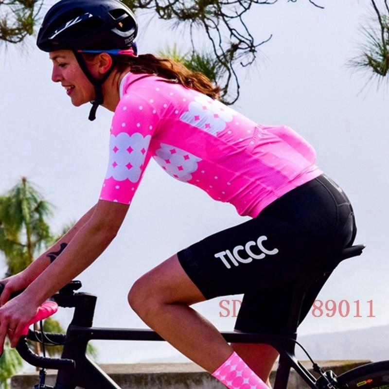 Ropa Ciclismo verano 2020 transpirable mujeres Ciclismo camiseta MTB jersey carretera bicicleta Rcc Ropa Ciclismo tops desgaste