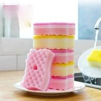 tt dish washing sponge scouring pad dishcloth kitchen supplies cleaning sponge pot bowl brushing appliance