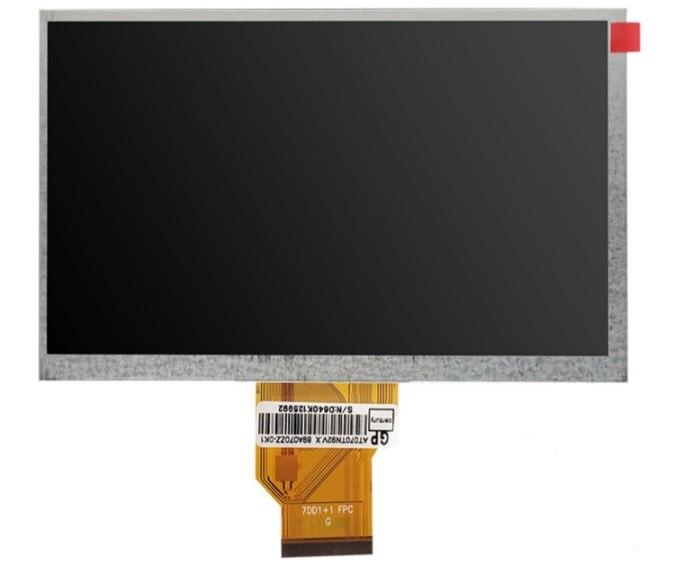 Latumab nuevo 50 pin 7 pulgadas Grado A + AT070TN90 800*480 TFT pantalla LCD + pantalla táctil de navegación del coche GPRS pantalla LCD