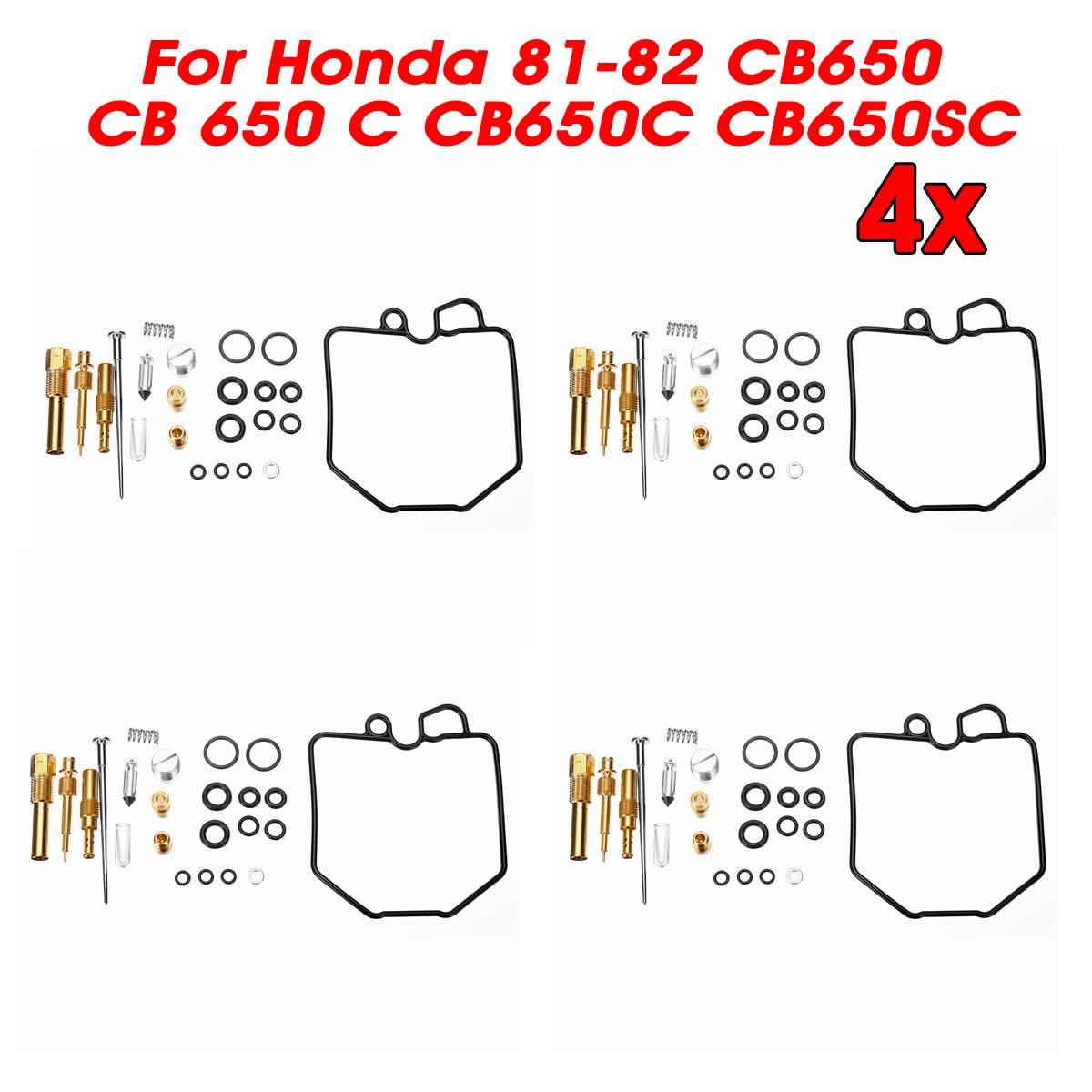 Autoleader 1/4Set Car Carburetor Carb Repair Rebuild Kit Auto Rebuild Accessories For Honda 81-82 CB650 CB 650 C CB650C CB650SC