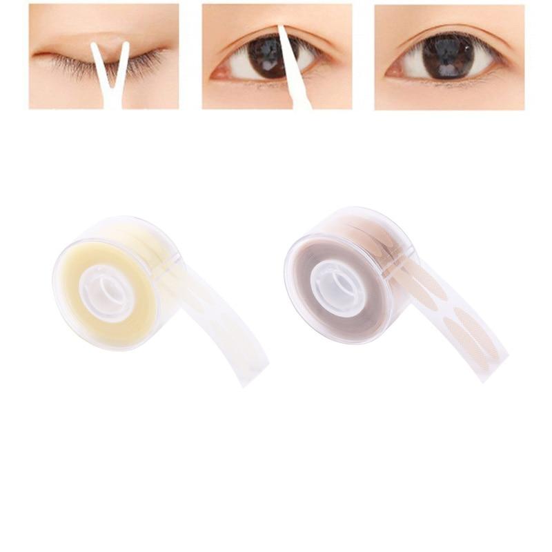 600pcs S/L Makeup Clear Beige Eyelid Tape Eyelid Upper Eyelid Lift Strips Double Fold Eyelid Tape Stickers Eye Makeup Tools