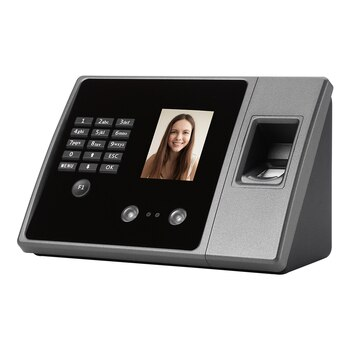 Biometric Attendance System Biometric Intelligent Face Time Attendance Recognition Time Clock USB/Ethernet Employee Recorder
