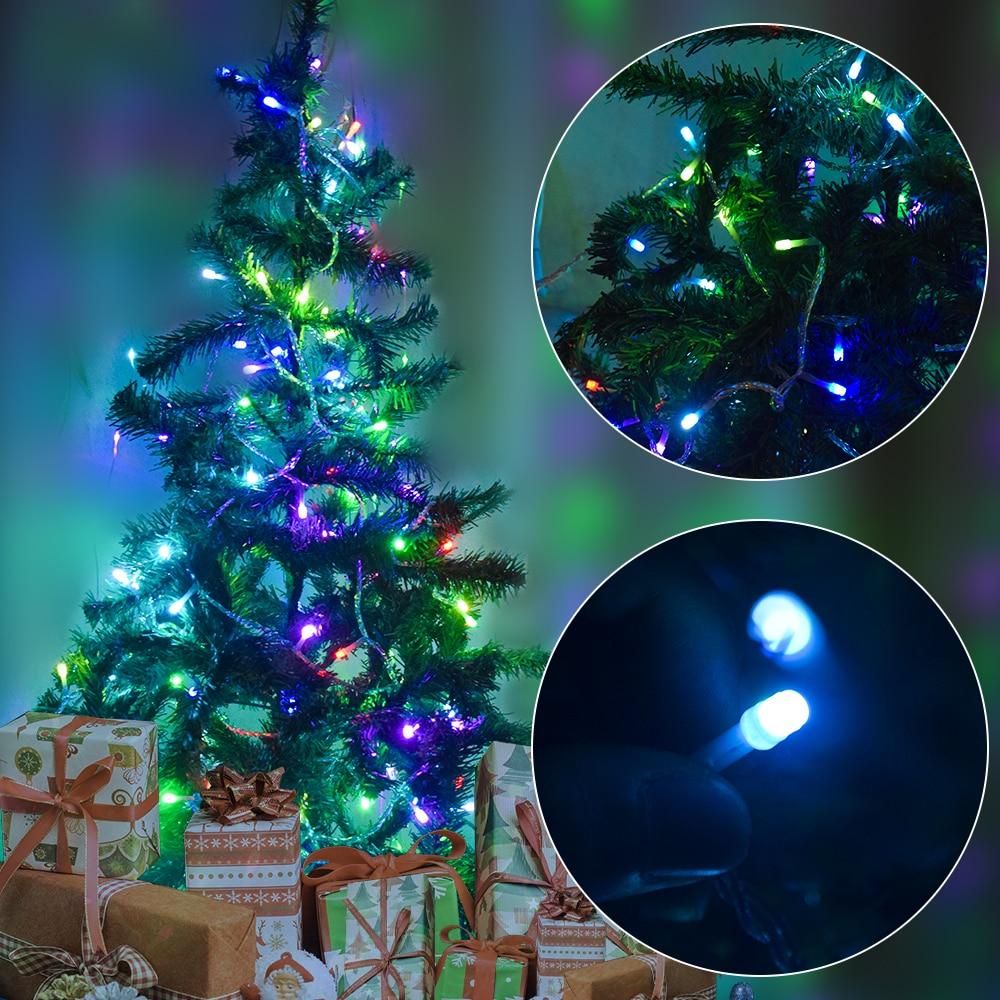 Vakantie LED kerstverlichting buiten 100m 50m 30m 20m 10m LED - Vakantie verlichting - Foto 4