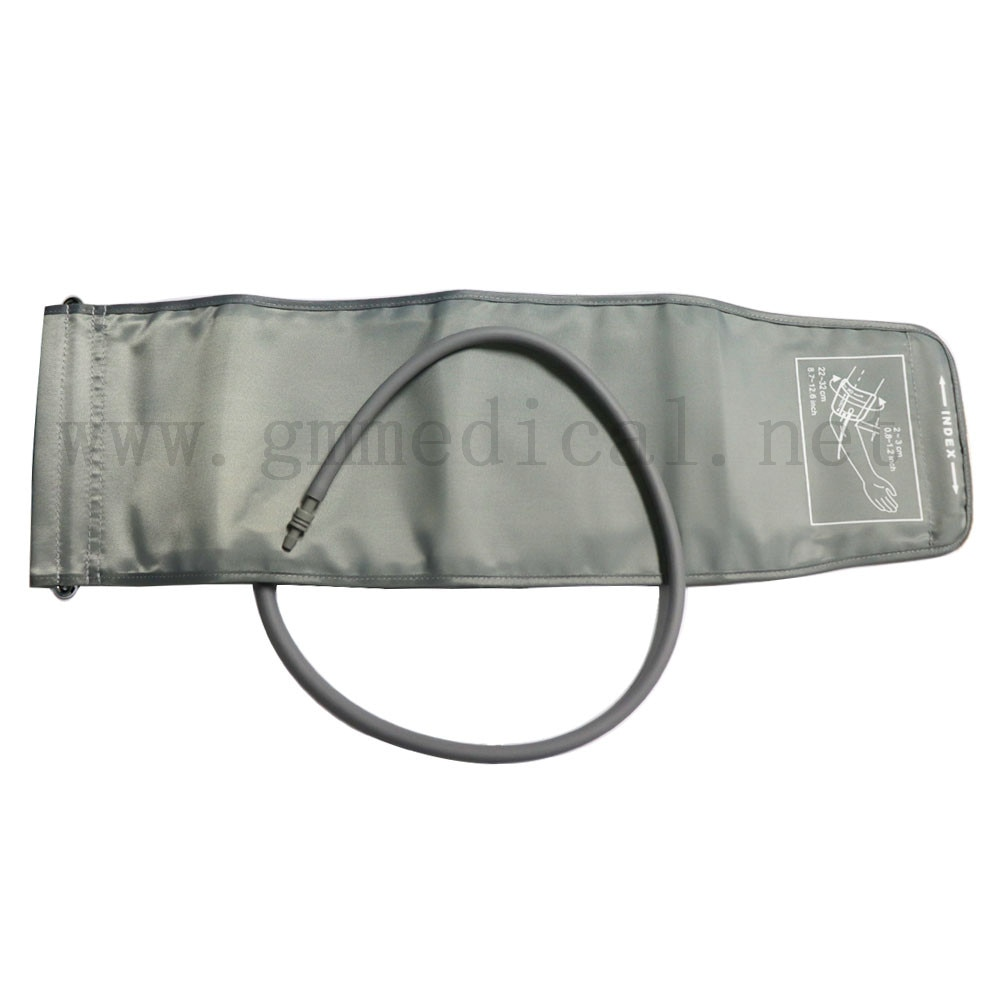 Patient Monitor Nibp Cuff with D Ring 22-32CM Single-tube Sphygmomanometer Arm Cuff Nylon material.with 5mm connectors.