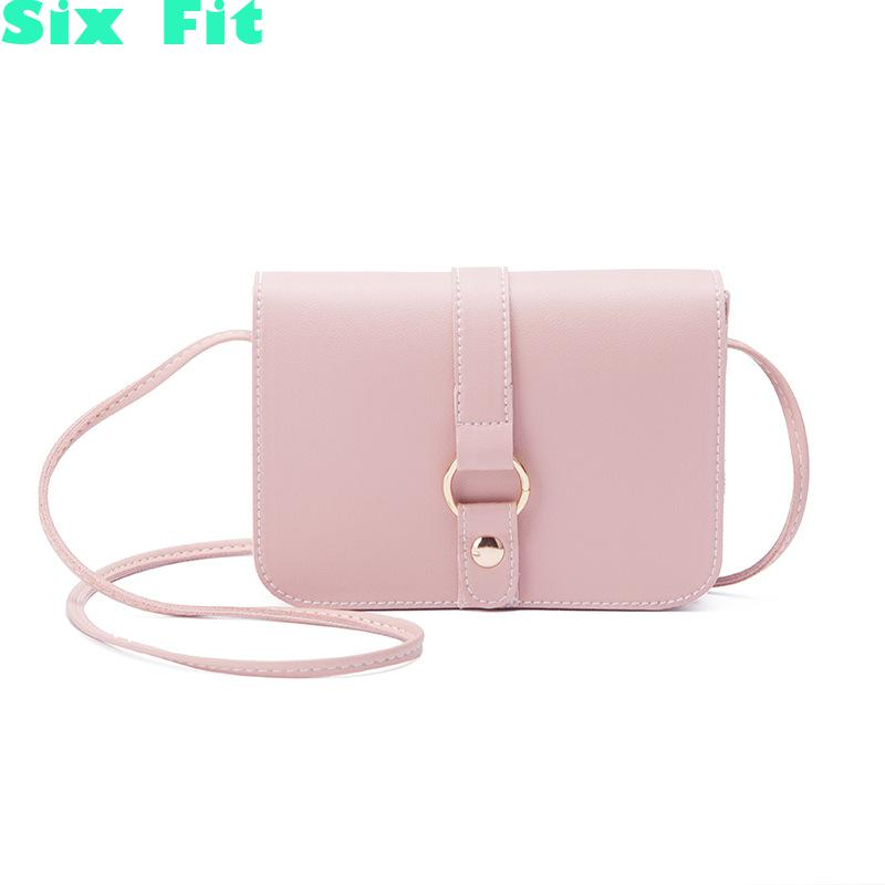 2020 Fashion Summer Chain Crossbody bag PU Leather Crossbody Lady Shoulder Messenger Bag Elegant Env