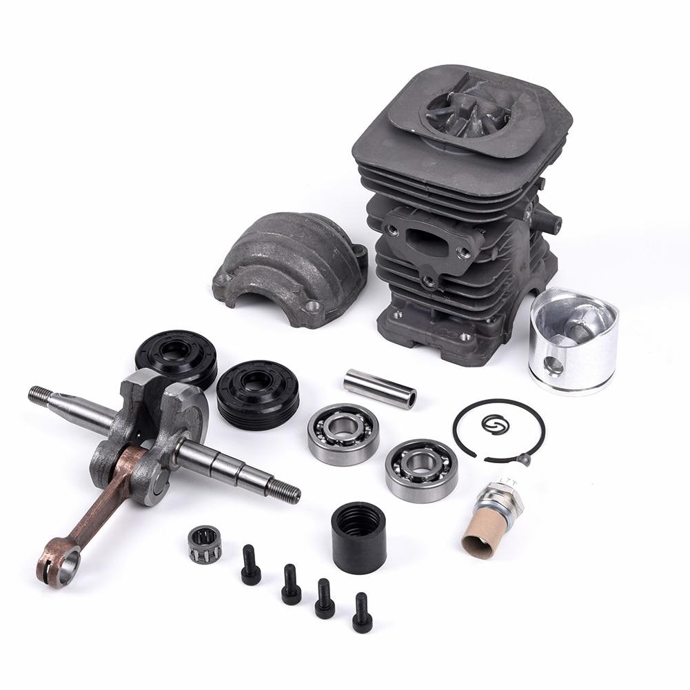 new 06b 105 701 e std engine crankshaft Chainsaw Engine 40mm Cylinder Crankshaft Tool Kit For HUSQVARNA 136 137 141 142 Piston Cylinder Crankshaft Car Engine Kit